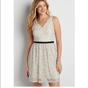 NWT Maurices Sleeveless Lace Dress